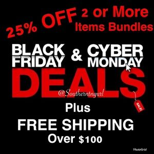 Black Fri/Cyber Mon Bundle Sale. Mix Men's & Women